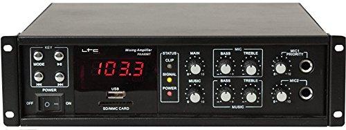 LTC 95-1002 PAA80BT Amplificateur public adressa Lotronic