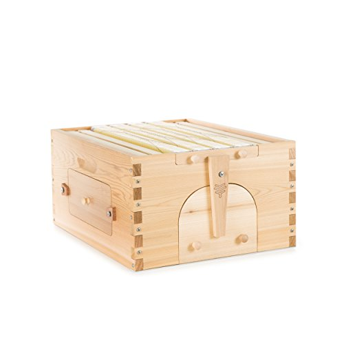 Official Flow Hybrid Cedar 4 Frame - beehive super featuring ...