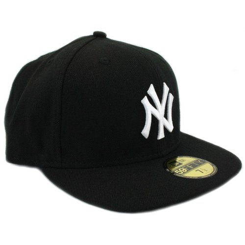 Berretto Black Ny New Baseball 59fifty Era Da white Yankees Per Mlb Fitted Adulti  Basic BqxFxwUt4 0ff131e13356