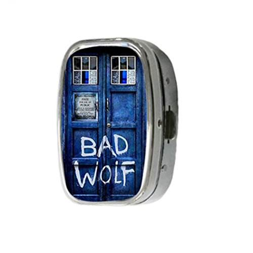 doctor-who-tardis-bad-wolf-customize-unique-silver-square-pill-box-medicine-tablet-organizer-or-coin