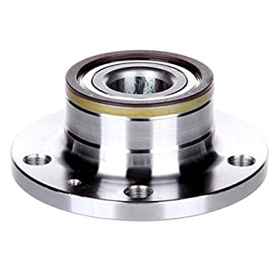 ZENITHIKE 512319x1 Wheel Bearing and Rear Wheel Hub Assembly Replacement for 2008-2009 TT with ABS Rapid Heat-dispersing,Smooth,Allure: Automotive