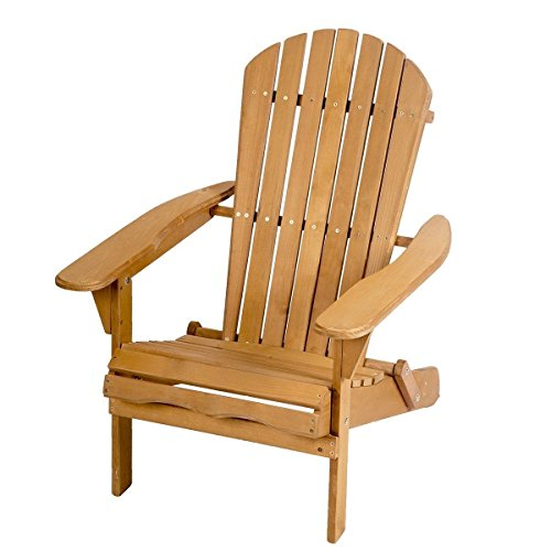 Sgood Chair Seat Lawn Home Adirondack Wood Patio Deck Folding Furniture Garden by Sgood
