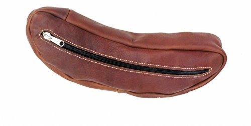 The Colorado Saddlery 1-17 Leather Cantle Bag