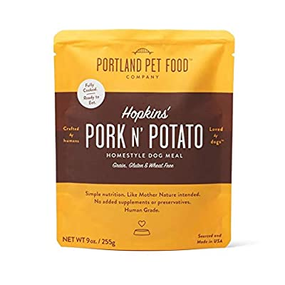 Portland Pet Food Company, Dog Meal Homestyle Hopkins Pork N Potato, 9 Ounce