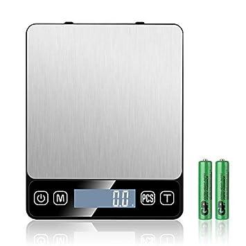 Báscula de cocina digital, báscula de precisión, báscula de alimentos multifunción de 3kg /