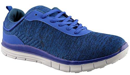 Synthetische Hardloopschoenen Air Tech Heren 9 Blauw