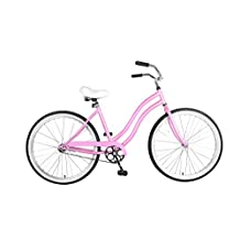 Cycle Force Cruiser Bike, 26 inch Wheels, 18 inch Frame, Women's Bike, 5 colors available