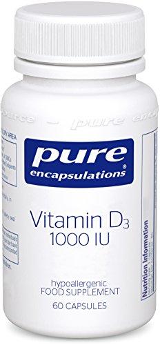 Pure Encapsulations - Vitamin D3 1,000 IU - Vitamin D3 Providing 1000 IU...
