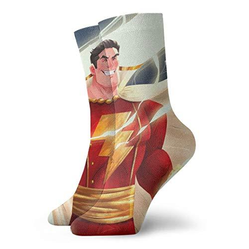 Boys&Girls Sha-zam Casual Crew Socks Athletic Sports Funny Socks Dress Socks High Ankle ()