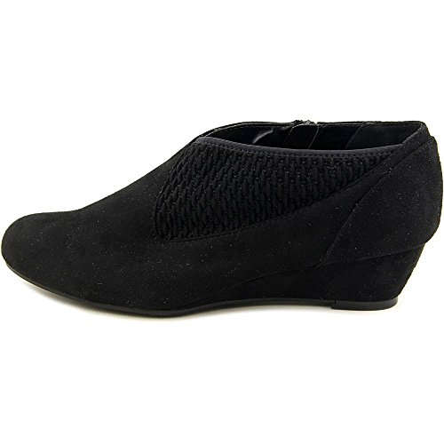 04f9ff2e93 lovely Impo Genius Women Round Toe Synthetic Black Bootie - kaneusa.org