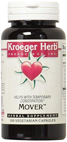 Kroeger Herb Mover Vegetarian Capsules, 100 Count