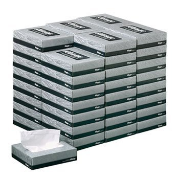 Kimberly-Clark Professional* Kleenex White Facial Tissue, 2-Ply, 65 Tissues/Box, 48 Boxes/Carton by Kimberly-Clark