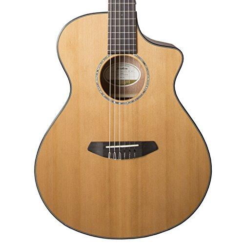 Acoustic Electric Guitar Natural Gloss - Breedlove PURSUIT NYLON Pursuit Nylon Acoustic-Electric Guitar Natural