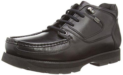 Kickers Bosley Lthr Am - Escarpines para Hombre, Color Noir (Black), Talla 45