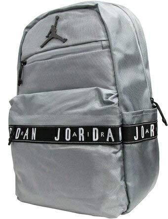 (ジョーダン) Jordan バックパック デイパック Jordan Skyline Taping Backpack W.Gry BCKPK バスケットボール ランニング トレーニング ストリート Free B07NGG9RSN