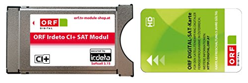 Orf Karte Ci Modul.Orf Irdeto Ci Module Including Orf Ice Card To Receive Amazon Co