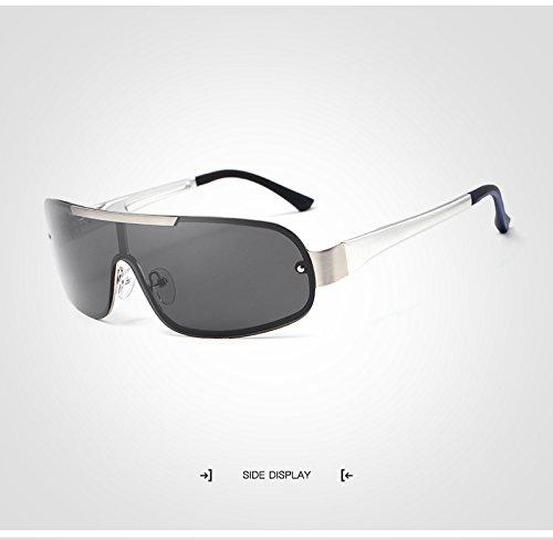 wqolutepce New Brown Fishing para Silver de Alta de Product Marca Driving Gafas Calidad lan HD Gafas Moda de Color Trends polarizadas Shuo Lens Sol Star Hombre zq5S0