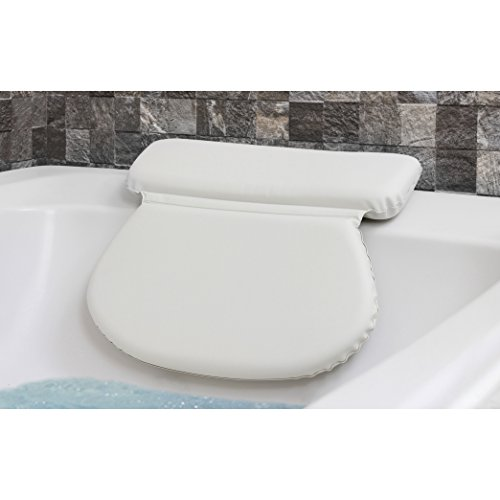 Epica 2X-Thick Luxury Spa Bath Pillow, SuperGrip Suction Cup