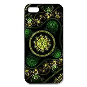DD Abstract Art Pattern Plastic Hard Case for iPhone 5/5S