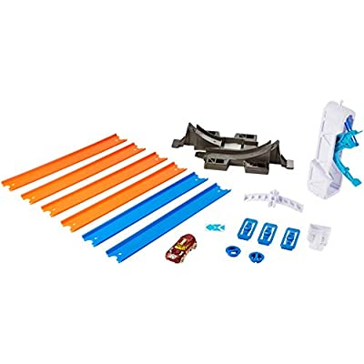 Hot Wheels Track Builder Loop Launcher Playset: Toys & Games