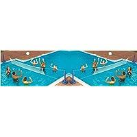 Swimline en el juego de voleibol de la piscina de tierra
