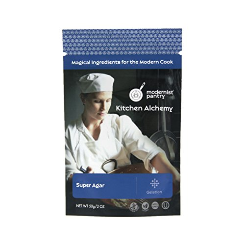 Super Agar Powder ⊘ Non-GMO ☮ Vegan ✡ OU Kosher Certified 50g/2oz