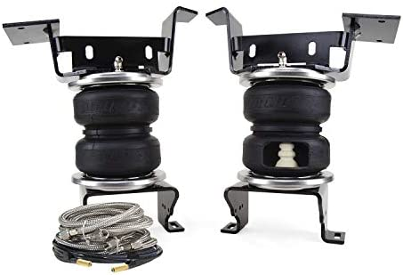 Air Lift 89341 LoadLifter 5000 Ultimate Plus Incl. 2 Ply Air Springs w/Internal Jounce Bumper Stainless Steel Roll Plates And Air Lines LoadLifter 5000 Ultimate Plus