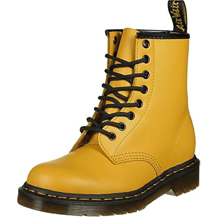 Dr martens 1460 Yellow Dm24614700 it Damskie High tops buty Za Kostk yellow