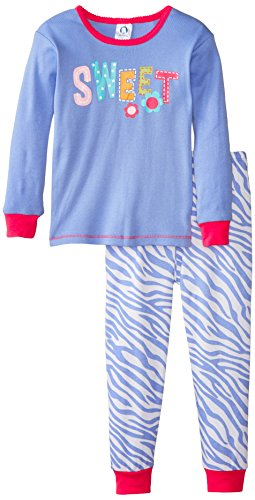 - Gerber Little Girls' Toddler 2 Piece Cotton Pajama, Zebra, 4T