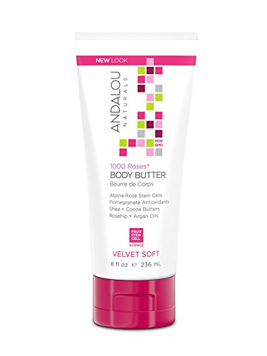 Andalou Naturals Body Butter, 8 Ounce