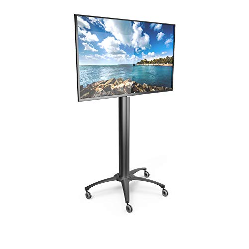 Kanto MKX70 Rolling TV Stand with Built-in Power Bar for 37-inch to 70-inch Displays