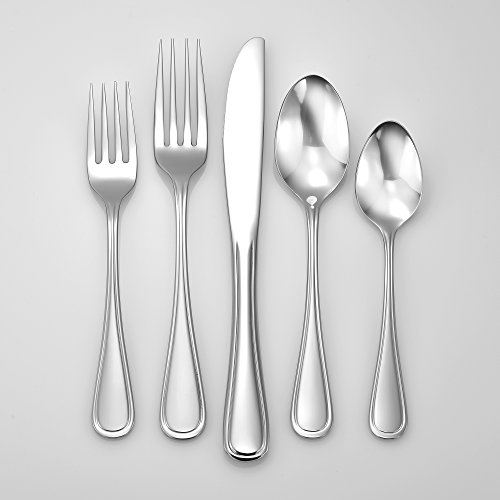 Rim Classic (Liberty Tabletop Classic Rim 65 Piece Flatware Set for 12 Made in USA)