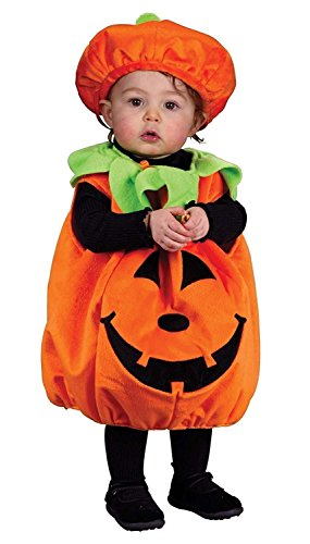 Punkin Cutie Pie Costume, Infant (Ages up to 24 months)