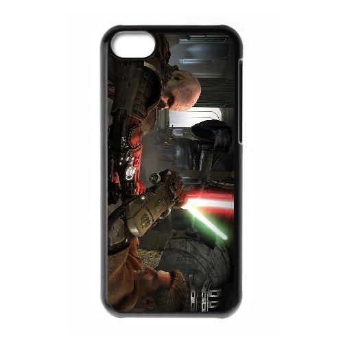 Star Wars The Old Republic 9 coque iPhone 5c cellulaire cas coque de téléphone cas téléphone cellulaire noir couvercle EEECBCAAN00701