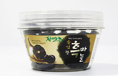 Joy Natural Fermented Black Garlic Peeled Cloves, Packed in transparent plastic tub with a lid, Fermented and Packed in Korea, 150 g by Joy Natural (Image #9)
