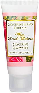 product image for Camille Beckman Glycerine Hand Therapy Cream, Glycerine Rosewater, 1.35 Ounce