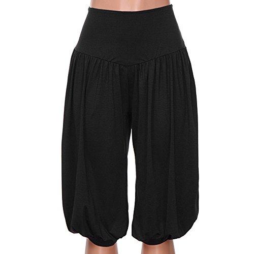 Columbia Belted Shorts (YKARITIANNA Women Ladies Loose Yoga Pants, Life Coach Sport Harem Loose Capris Yoga Elastic High Waist Shorts Pants Leggings)