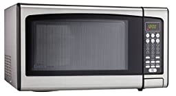 Danby Designer 1.1 cu.ft. Countertop Microwave, Stainless Steel