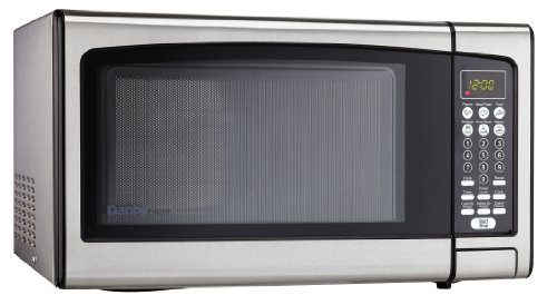 Danby Designer 1.1 cu.ft. Countertop Microwave, Stainless Steel by Danby