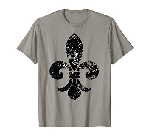 Mardi Gras T-shirt Carnival Fleur de Lis Gift Men Women