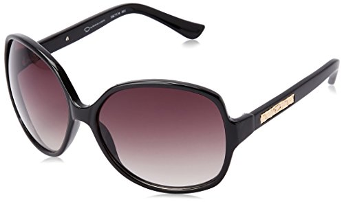 Oscar by Oscar De La Renta Women's Ssc5136 Square Sunglasses, Black, 61 - Oscar Sunglasses
