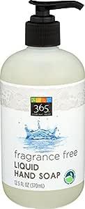 365 Everyday Value, Liquid Hand Soap, Fragrance Free, 12.5 fl oz