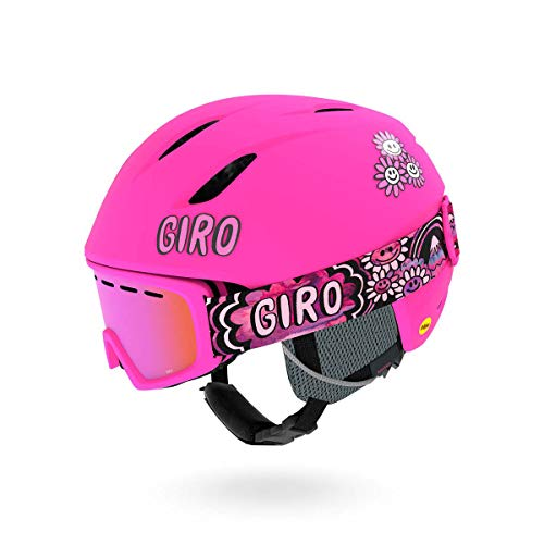 Giro Launch CP Kids Snow Helmet Matte Bright Pink Daizee XS (Best Kids Ski Helmets)