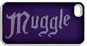 Creative Muggle Mudblood Harry Potter snap on Iphone 4/4s Case Best Cover Show 1za578 by runtopwell