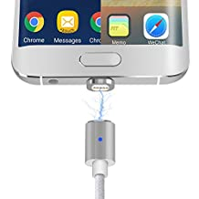 2 in 1 Magnetic Charging Cable, Stouch Magnetic Lightning and Micro USB Connector Adapter for iPhone 7 7 Plus 6 6S iPad Mini/Pro Samsung Galaxy S7 Edge HTC MOTO SONY Xperia