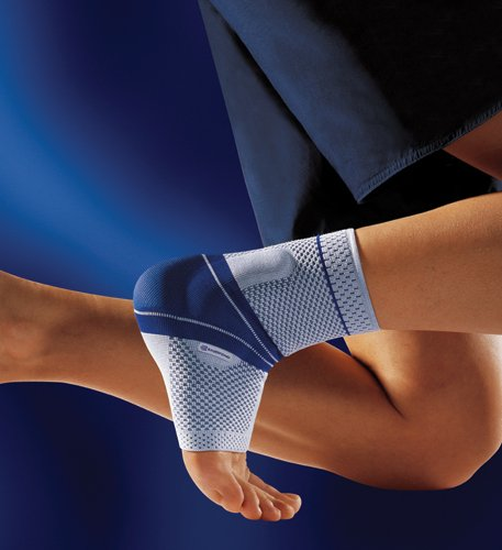 MalleoTrain Ankle Support Sz 2 Left Cir: 7« - 8¬ Gray