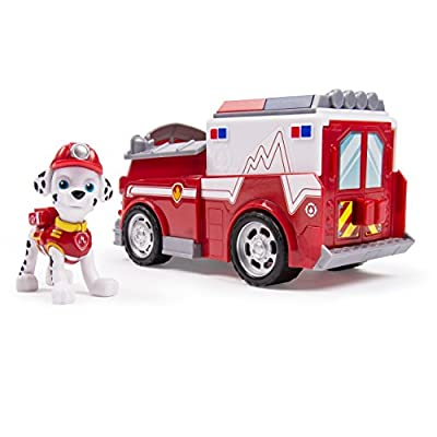Paw Patrol Marshall's EMT Ambulance, Vehicle and Figure: Toys & Games