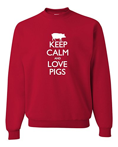 Pig Adult Sweatshirt - 7