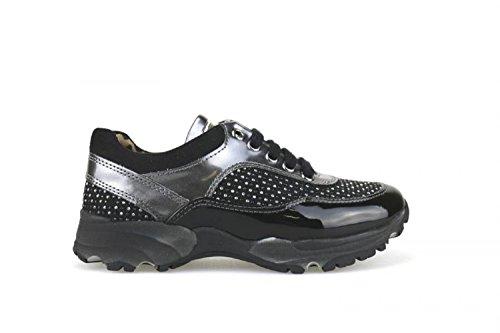 NADA , Mädchen Sneaker nero / grigio