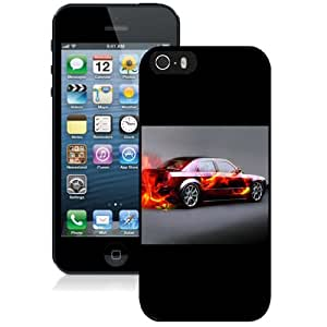 Personalized Phone Case Design with Muscle Car Flames iPhone 5s Wallpaper